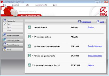 Avira antivir personal-free antivirus italiano download gratis